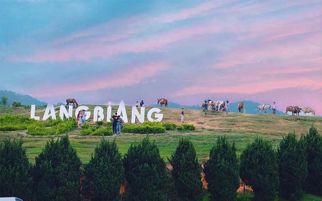 Địa điểm du lịch Đà Lạt hè 2021 - Khu Du Lịch Langbiang