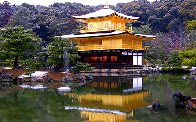 Chùa vàng Kinkakuji - biểu tượng của cố đô Kyoto, Nhật Bản